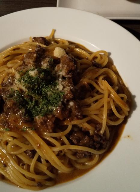 pastaba meatsouce1 - 魂の生パスタ!洋麺バルPastaBA(パスタバ)ってどうよ?