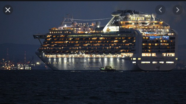 diamondprincess 2 - 横浜発豪華客船から新型コロナウイルス10名感染!渡航ルートは?