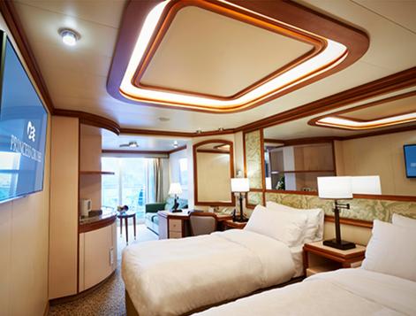 diamondprincess kyakusitu1 - 横浜発豪華客船から新型コロナウイルス10名感染!渡航ルートは?