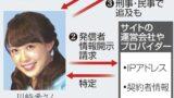 fd1899cc10e9ee46fa249ed0ba42c94a - 川崎希さん侮辱の女2名書類送検!ネット炎上した時の対処法は?